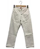 ()の古着「デニムパンツ」|ホワイト