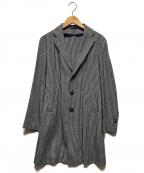 Brilla per il gusto(ブリッラ ペル イルグースト)の古着「シングルウールコート」|ネイビー×ホワイト
