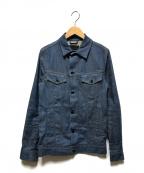 Denham()の古着「デニムジャケット」 インディゴ
