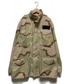US ARMY(ユーエスアーミー)の古着「M65 Field Jacket」 ベージュ×カーキ