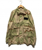 US NAVY(ユーエスネイビー)の古着「3C デザートカモBDUジャケット」|ベージュ×カーキ