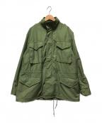 ALPHA INDUSTRIES(アルファインダストリーズ)の古着「M65ジャケット」|カーキ