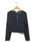 LANVIN en Bleu(ランバンオンブルー)の古着「ニットジャケット」 ブラック