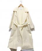 GALLARDA GALANTE(ガリャルダガランテ)の古着「クレーターロングコート」 ホワイト