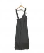 UN3D.(アンスリード)の古着「アイレットオールインワン」 ブラック