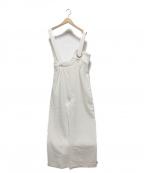 UN3D.(アンスリード)の古着「アイレットオールインワン」 ホワイト