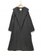 ARGUE(アギュー)の古着「フーデッドコート」|ブラック