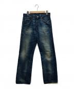 LEVI'S VINTAGE CLOTHING(リーバイスヴィンテージクロージング)の古着「シンチバックデニムパンツ」 インディゴ
