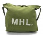 MHL(エムエイチエル)の古着「キャンバスショルダーバッグ」|カーキ