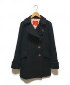 V.W. RED LABEL(ヴィヴィアンウエストウッドレッドレーベル)の古着「Pコート」|ブラック