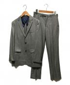 BURBERRY BLACK LABEL(バーバリーブラックレーベル)の古着「2Bセットアップスーツ」 グレー