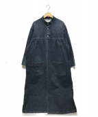 ()の古着「デニムワークコート」 インディゴ