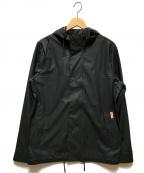 HUNTER(ハンター)の古着「ライトウェイトウォータープルーフボンバージャケット」|ブラック