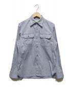 ()の古着「Classic Chest Pocket Shirt」|インディゴ