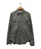 ()の古着「ウエスタンシャツ」|グレー