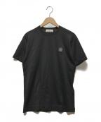 STONE ISLAND(|ストーンアイランド)の古着「クルーネックコットンTシャツ」|ブラック