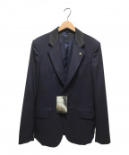 TOGA VIRILIS()の古着「スーチングウールジャケット」 ネイビー