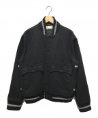 MONITALY(モニタリー)の古着「スタジャン」|ブラック