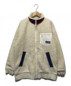 X-GIRL(エックスガール)の古着「ボアフリースジャケット」|ホワイト