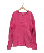 THE SHINZONE(ザ シンゾーン)の古着「サーマルカットソー」|ピンク