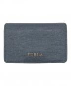 FURLA(フルラ)の古着「カードケース」|ブルー