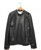 URBAN RESEARCH(アーバンリサーチ)の古着「シングルレザージャケット」 ブラック