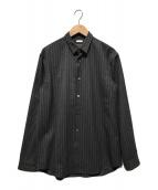 ()の古着「レイヤードクラシックシャツ」 グレー