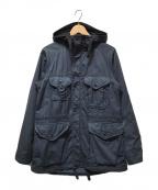 Engineered Garments(エンジニアドガーメンツ)の古着「フィールドパーカー」|ネイビー
