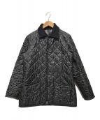 ()の古着「キルティングジャケット」 ブラック