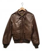 SPIEWAK(スピワック)の古着「A-2フライトジャケット」 ブラウン
