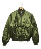 US ARMY(ユーエスアーミー)の古着「G-8 WEPフライトジャケット」|オリーブ