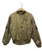 ()の古着「タンカースジャケット」 オリーブ