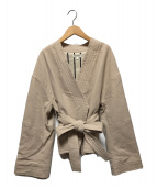 ()の古着「着物ジャケット」|ベージュ