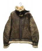 ()の古着「B-3フライトボマージャケット」|ブラウン