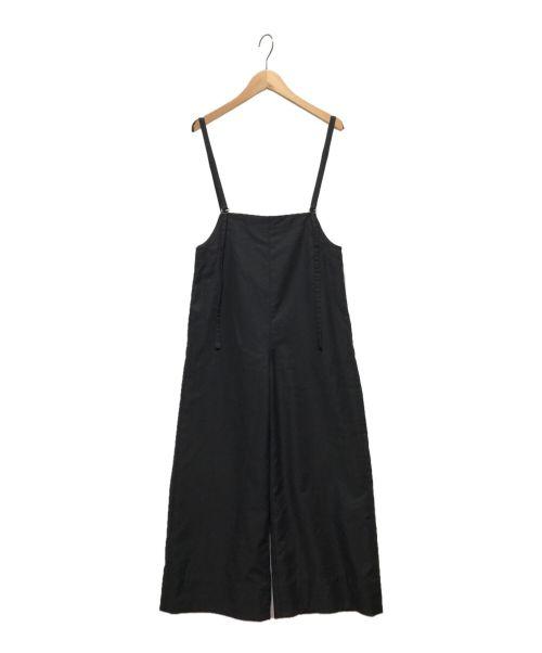 ARPEGE STORY(アルページュストーリー)ARPEGE STORY (アルページュストーリー) ハイウエストサロペット ブラック サイズ:0(下記参照)の古着・服飾アイテム