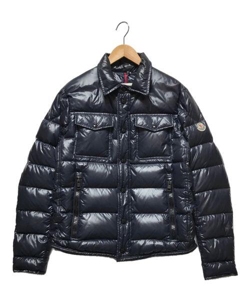 MONCLER(モンクレール)MONCLER (モンクレール) ダウンジャケット ネイビー サイズ:2(下記参照)の古着・服飾アイテム