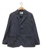 Engineered Garments()の古着「スモールポルカドットロイタージャケット」|ネイビー