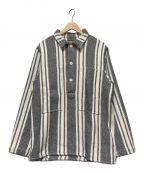 NEIGHBORHOOD()の古着「メキシカンプルオーバーシャツ」|ブラック×ホワイト