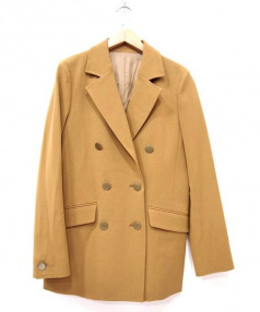 Adam et Rope(アダム エ ロペ)の古着「ダブルブレストジャケット」|ベージュ