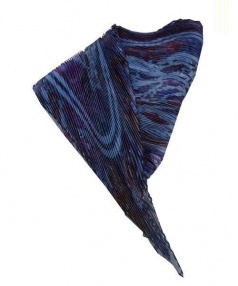 HERMES(エルメス)の古着「CARRE PLISSE 90CM」|インディゴ