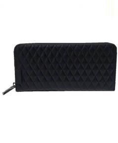 Calvin Klein(カルバンクライン)の古着「レザー長財布」|ブラック