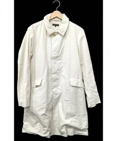 A VONTADE(ア ボンタージ)の古着「WRINKLE MAC COAT」|アイボリー