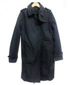 MONCLER(モンクレール)の古着「FLAVEトレンチコート」|ブラック