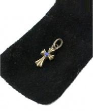 CHROME HEARTS(クロムハーツ)の古着「CRS BBYFAT SAP 」|シルバー×ブルー