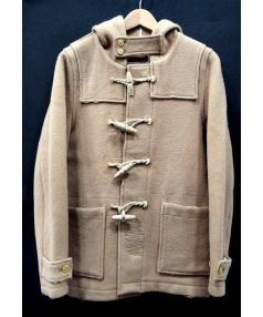 JACKSON MATISSE(ジャクソン マティス)の古着「USED加工ダッフルコート」 ベージュ
