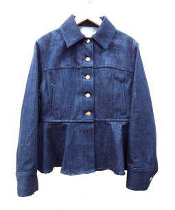 LE CIEL BLEU(ルシェルブルー)の古着「デニムジャケット」|インディゴ