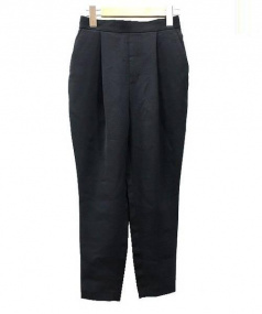 ENFOLD(エンフォルド)の古着「ドライダブルクロスゴムジョッパーパンツ」 ブラック