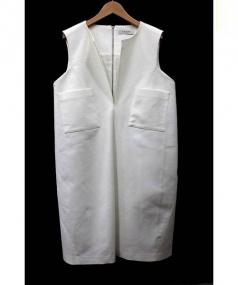 ADORE(アドーア)の古着「ノースリーブワンピース」|ホワイト