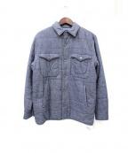 save khaki united(セーブカーキユナイテッド)の古着「CPOキルティングジャケット」|ブルー