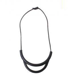 crescioni(クレッシオーニ)の古着「Arch Necklace」 ブラック